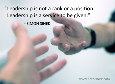 Servant Leadership Quotes Amusing Servant Leadership  Peter Barron Stark Companies