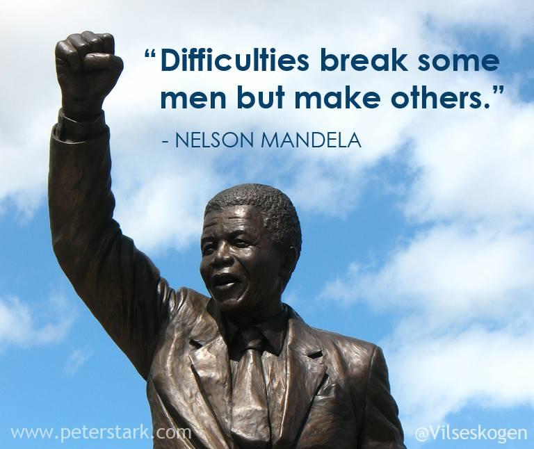 Nelson Mandela Peter Barron Stark Companies