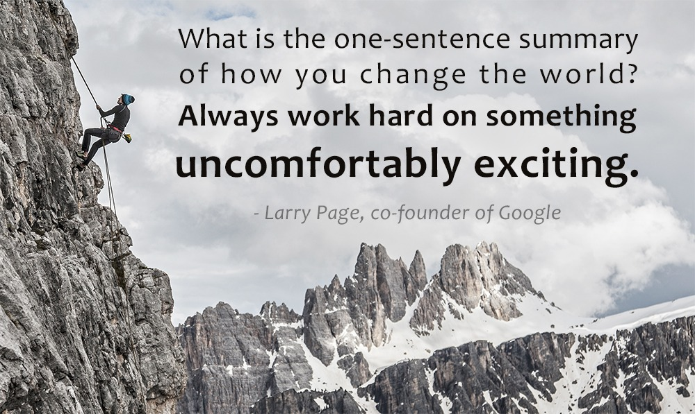 Larry Page Quote on Driving Change