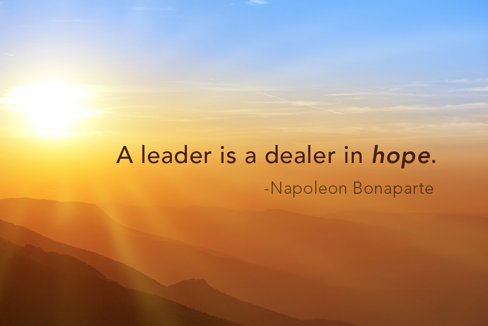 Leadership Quote on Hope